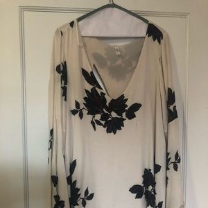 Free people flowy floral dress